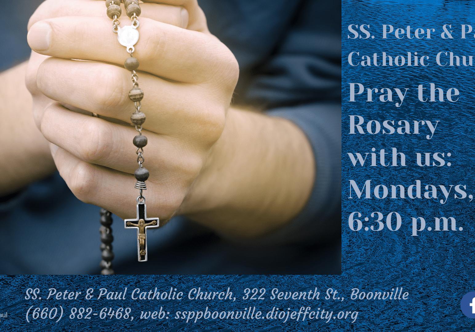 Monday Night Rosary
